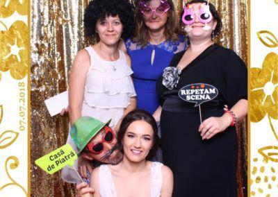 Cabina Foto Showtime - MAGIC MIRROR - Maria & Daniel - Nunta - OK Ballroom Ramnicu Valcea (255)
