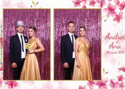 Cabina Foto Showtime - MAGIC MIRROR - Andrei & Ana - Nunta - Grand Hotel Sofianu Ramnicu Valcea (19)