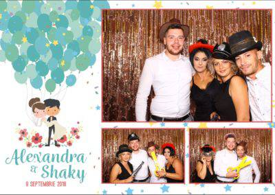 Cabina Foto Showtime - FUN BOX - Alexandra & Shaky - Nunta - OK Ballroom Ramnicu Valcea (1)