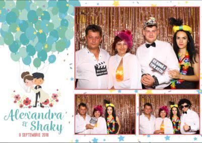 Cabina Foto Showtime - FUN BOX - Alexandra & Shaky - Nunta - OK Ballroom Ramnicu Valcea (106)