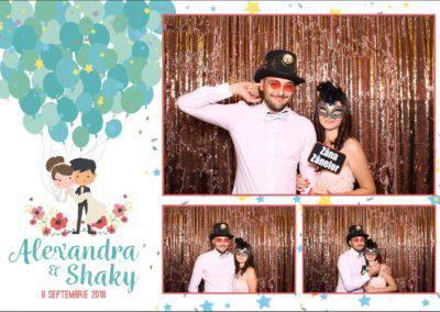 Cabina Foto Showtime - FUN BOX - Alexandra & Shaky - Nunta - OK Ballroom Ramnicu Valcea (12)