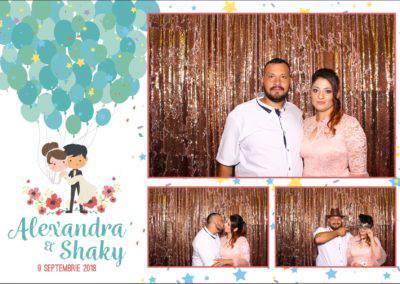 Cabina Foto Showtime - FUN BOX - Alexandra & Shaky - Nunta - OK Ballroom Ramnicu Valcea (16)