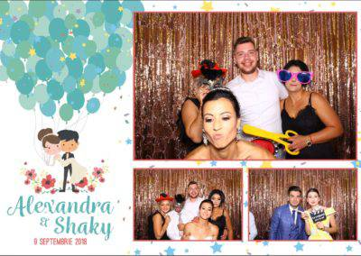 Cabina Foto Showtime - FUN BOX - Alexandra & Shaky - Nunta - OK Ballroom Ramnicu Valcea (2)