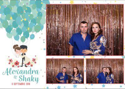 Cabina Foto Showtime - FUN BOX - Alexandra & Shaky - Nunta - OK Ballroom Ramnicu Valcea (20)