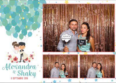 Cabina Foto Showtime - FUN BOX - Alexandra & Shaky - Nunta - OK Ballroom Ramnicu Valcea (21)