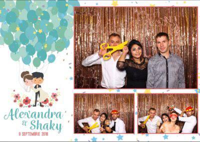 Cabina Foto Showtime - FUN BOX - Alexandra & Shaky - Nunta - OK Ballroom Ramnicu Valcea (26)