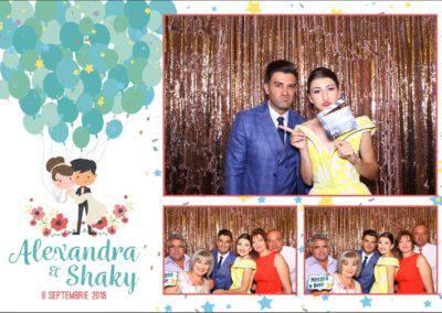 Cabina Foto Showtime - FUN BOX - Alexandra & Shaky - Nunta - OK Ballroom Ramnicu Valcea (3)