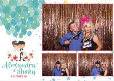 Cabina Foto Showtime - FUN BOX - Alexandra & Shaky - Nunta - OK Ballroom Ramnicu Valcea (4)