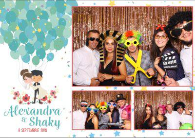 Cabina Foto Showtime - FUN BOX - Alexandra & Shaky - Nunta - OK Ballroom Ramnicu Valcea (46)