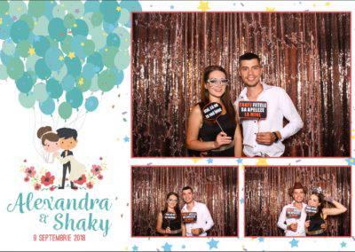 Cabina Foto Showtime - FUN BOX - Alexandra & Shaky - Nunta - OK Ballroom Ramnicu Valcea (6)