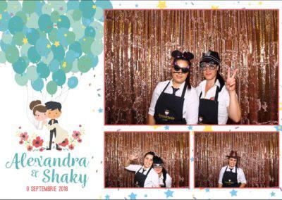 Cabina Foto Showtime - FUN BOX - Alexandra & Shaky - Nunta - OK Ballroom Ramnicu Valcea (93)