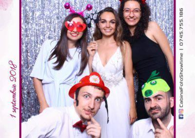 Cabina Foto Showtime - MAGIC MIRROR - Cristina si Gratian - Nunta -Stephany Ballroom Ramnicu Valcea (100)