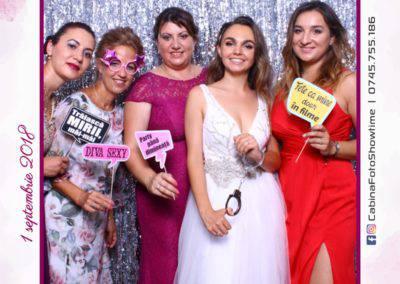 Cabina Foto Showtime - MAGIC MIRROR - Cristina si Gratian - Nunta -Stephany Ballroom Ramnicu Valcea (117)
