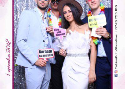 Cabina Foto Showtime - MAGIC MIRROR - Cristina si Gratian - Nunta -Stephany Ballroom Ramnicu Valcea (130)