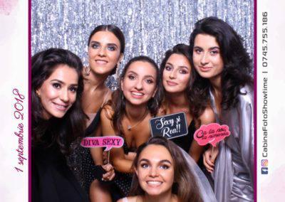 Cabina Foto Showtime - MAGIC MIRROR - Cristina si Gratian - Nunta -Stephany Ballroom Ramnicu Valcea (205)