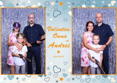 Cabina Foto Showtime - MAGIC MIRROR - Valentin, Oana & Andrei - Nunta - Botez - Valcea (11)