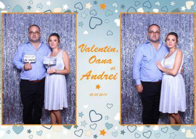 Cabina Foto Showtime - MAGIC MIRROR - Valentin, Oana & Andrei - Nunta - Botez - Valcea (20)
