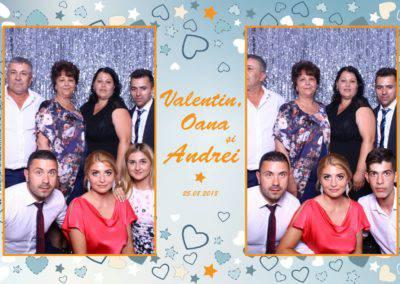 Cabina Foto Showtime - MAGIC MIRROR - Valentin, Oana & Andrei - Nunta - Botez - Valcea (33)