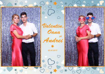 Cabina Foto Showtime - MAGIC MIRROR - Valentin, Oana & Andrei - Nunta - Botez - Valcea (34)