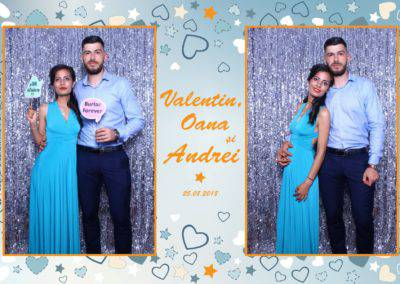 Cabina Foto Showtime - MAGIC MIRROR - Valentin, Oana & Andrei - Nunta - Botez - Valcea (39)