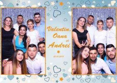 Cabina Foto Showtime - MAGIC MIRROR - Valentin, Oana & Andrei - Nunta - Botez - Valcea (45)