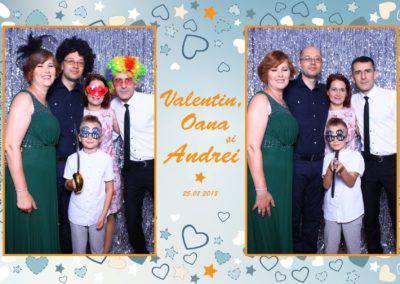 Cabina Foto Showtime - MAGIC MIRROR - Valentin, Oana & Andrei - Nunta - Botez - Valcea (52)