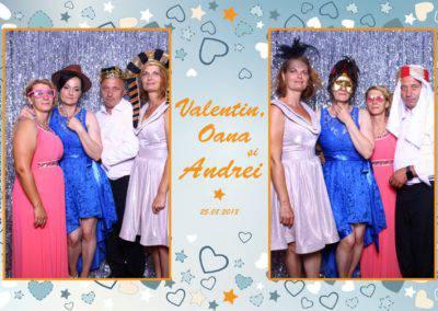 Cabina Foto Showtime - MAGIC MIRROR - Valentin, Oana & Andrei - Nunta - Botez - Valcea (63)