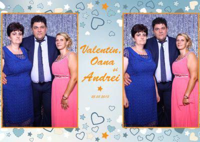 Cabina Foto Showtime - MAGIC MIRROR - Valentin, Oana & Andrei - Nunta - Botez - Valcea (64)