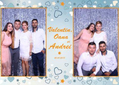 Cabina Foto Showtime - MAGIC MIRROR - Valentin, Oana & Andrei - Nunta - Botez - Valcea (7)