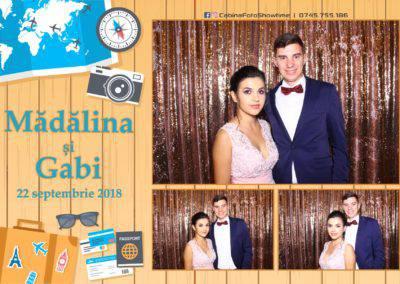 Cabina Foto Showtime - FUN BOX - Nunta - Madalina si Gabi - Restaurant Posada Events - Ramnicu Valcea - (1)