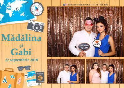 Cabina Foto Showtime - FUN BOX - Nunta - Madalina si Gabi - Restaurant Posada Events - Ramnicu Valcea - (100)