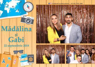 Cabina Foto Showtime - FUN BOX - Nunta - Madalina si Gabi - Restaurant Posada Events - Ramnicu Valcea - (101)