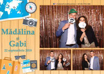 Cabina Foto Showtime - FUN BOX - Nunta - Madalina si Gabi - Restaurant Posada Events - Ramnicu Valcea - (102)