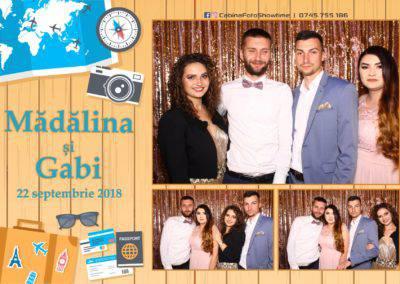 Cabina Foto Showtime - FUN BOX - Nunta - Madalina si Gabi - Restaurant Posada Events - Ramnicu Valcea - (103)