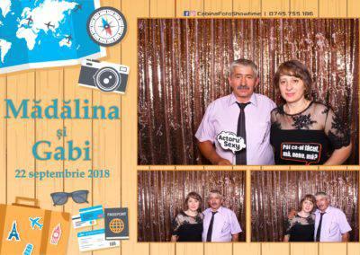 Cabina Foto Showtime - FUN BOX - Nunta - Madalina si Gabi - Restaurant Posada Events - Ramnicu Valcea - (104)