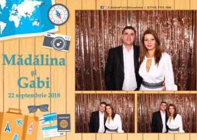 Cabina Foto Showtime - FUN BOX - Nunta - Madalina si Gabi - Restaurant Posada Events - Ramnicu Valcea - (105)