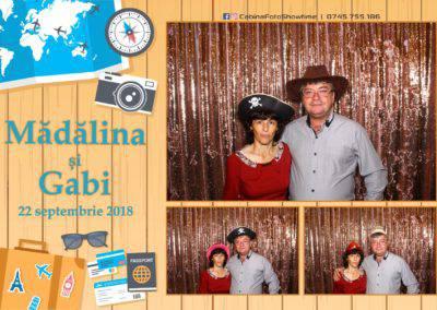 Cabina Foto Showtime - FUN BOX - Nunta - Madalina si Gabi - Restaurant Posada Events - Ramnicu Valcea - (107)