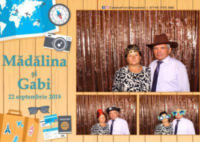 Cabina Foto Showtime - FUN BOX - Nunta - Madalina si Gabi - Restaurant Posada Events - Ramnicu Valcea - (108)