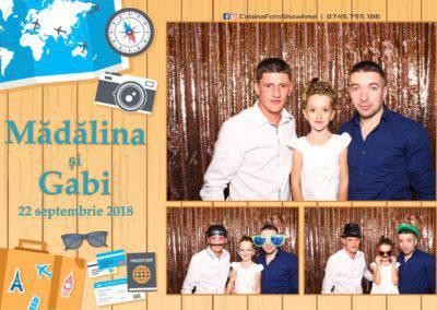 Cabina Foto Showtime - FUN BOX - Nunta - Madalina si Gabi - Restaurant Posada Events - Ramnicu Valcea - (109)