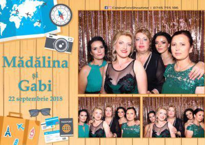 Cabina Foto Showtime - FUN BOX - Nunta - Madalina si Gabi - Restaurant Posada Events - Ramnicu Valcea - (110)