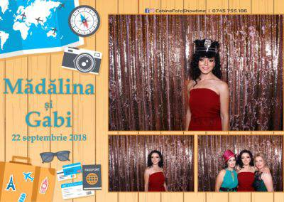 Cabina Foto Showtime - FUN BOX - Nunta - Madalina si Gabi - Restaurant Posada Events - Ramnicu Valcea - (111)