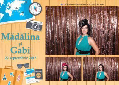 Cabina Foto Showtime - FUN BOX - Nunta - Madalina si Gabi - Restaurant Posada Events - Ramnicu Valcea - (112)