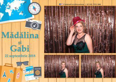 Cabina Foto Showtime - FUN BOX - Nunta - Madalina si Gabi - Restaurant Posada Events - Ramnicu Valcea - (113)