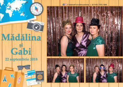 Cabina Foto Showtime - FUN BOX - Nunta - Madalina si Gabi - Restaurant Posada Events - Ramnicu Valcea - (114)