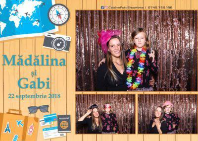 Cabina Foto Showtime - FUN BOX - Nunta - Madalina si Gabi - Restaurant Posada Events - Ramnicu Valcea - (115)