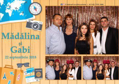 Cabina Foto Showtime - FUN BOX - Nunta - Madalina si Gabi - Restaurant Posada Events - Ramnicu Valcea - (116)