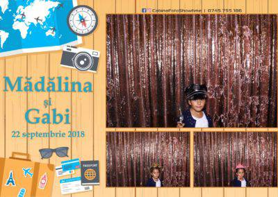 Cabina Foto Showtime - FUN BOX - Nunta - Madalina si Gabi - Restaurant Posada Events - Ramnicu Valcea - (117)