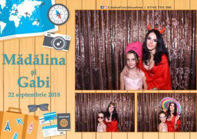 Cabina Foto Showtime - FUN BOX - Nunta - Madalina si Gabi - Restaurant Posada Events - Ramnicu Valcea - (118)