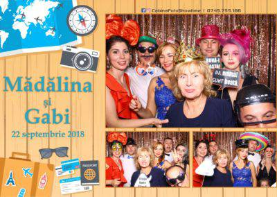 Cabina Foto Showtime - FUN BOX - Nunta - Madalina si Gabi - Restaurant Posada Events - Ramnicu Valcea - (119)