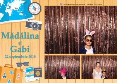 Cabina Foto Showtime - FUN BOX - Nunta - Madalina si Gabi - Restaurant Posada Events - Ramnicu Valcea - (120)